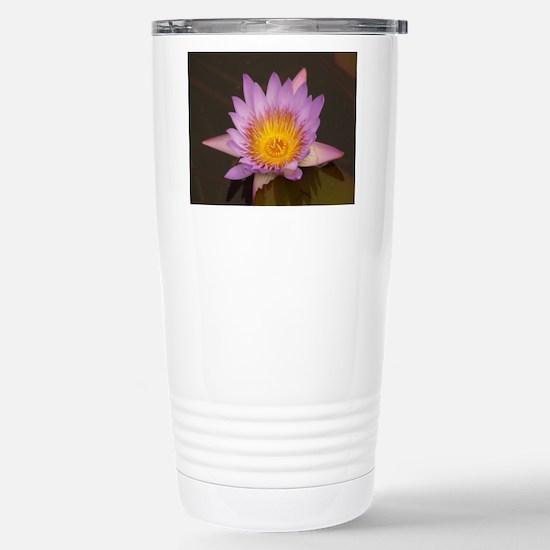 Lotus Flower Stainless Steel Travel Mug