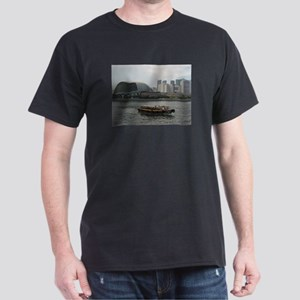 The Singapore Esplanade Seaview Dark T-Shirt