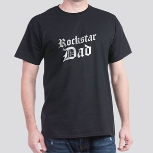 Rockstar Dad Dark T-Shirt