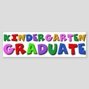 Kindergarten graduation idea Bumper Sticker