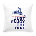 The Secret of Life Snowmobiler Everyday Pillow