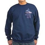 The Secret of Life Snowmobiler Sweatshirt (dark)