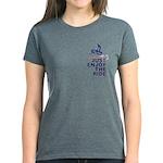 The Secret of Life Snowmobile Women's Dark T-Shirt
