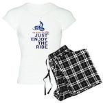 The Secret of Life Snowmobi Women's Light Pajamas