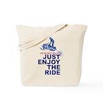 The Secret of Life Snowmobiler Tote Bag