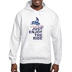 The Secret of Life Snowmobiler Hooded Sweatshirt