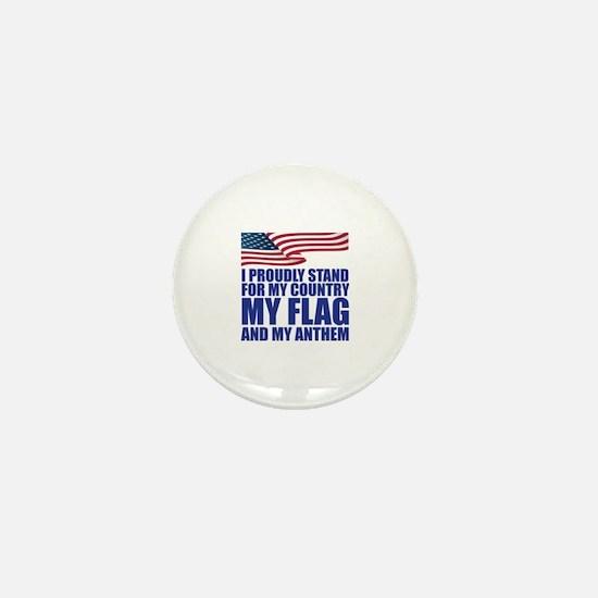 Cute Patriot Mini Button