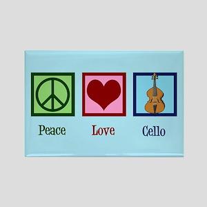 Cute Cello Rectangle Magnet