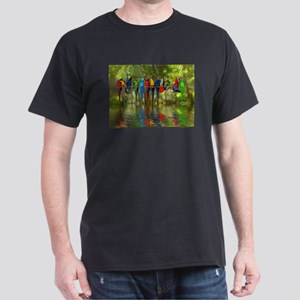 Perching Parrots T-Shirt