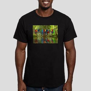 Perching Parrots T-Shirt