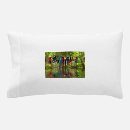 Cute Parrot Pillow Case