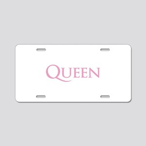 QUEEN Aluminum License Plate
