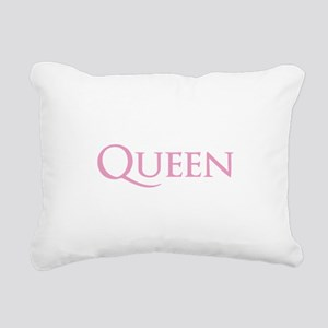 QUEEN Rectangular Canvas Pillow
