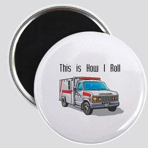 How I Roll (Ambulance) Magnet