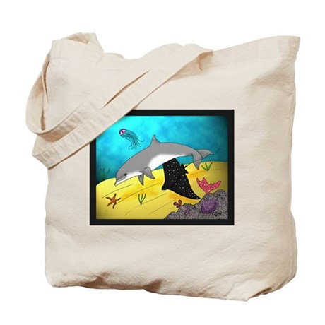 Undersea World Tote Bag