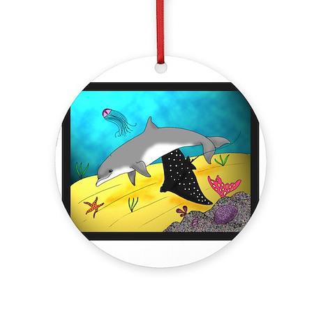 Undersea World Ornament (Round)