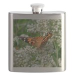 American Lady Butterfly in St Charles MO Flask