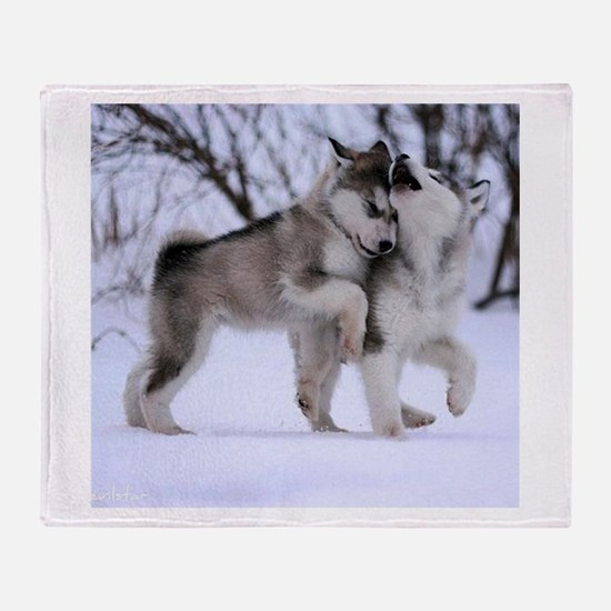 Unique Wolf Throw Blanket