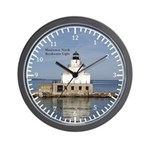 Manitowoc North Breakwater Light Wall Clock