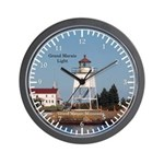 Grand Marais Light Wall Clock