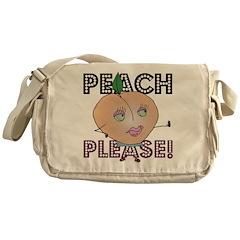 Peach, Please! Messenger Bag