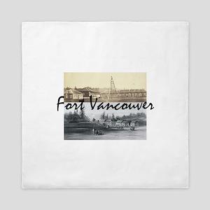 ABH Fort Vancouver Queen Duvet