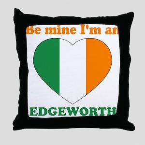 Edgeworth, Valentine's Day Throw Pillow