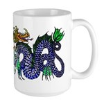 Fire Drake and Sea Serpent Large Mug