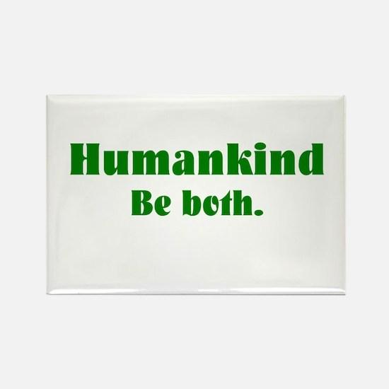 Human Kind Rectangle Magnet