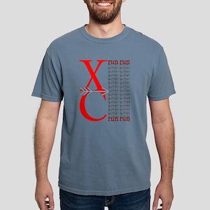 XC Run Red Gray T-Shirt