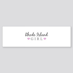Rhode Island Girl Bumper Sticker