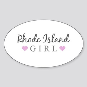 Rhode Island Girl Sticker