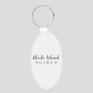 Rhode Island Girl Keychains