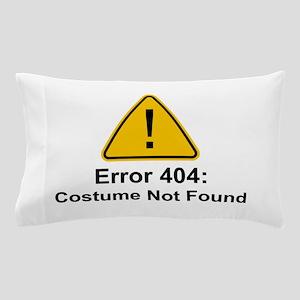 Error 404 Halloween Costume Not Found Pillow Case