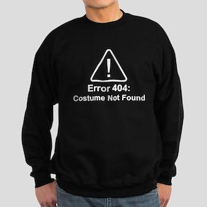 Error 404 Halloween Costume Not Found Sweatshirt
