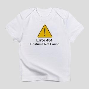 Error 404 Halloween Costume Not Found Infant T-Shi