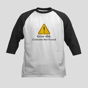 Error 404 Halloween Costume Not Found Baseball Jer
