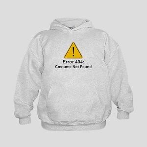 Error 404 Halloween Costume Not Found Hoodie