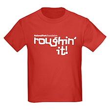 Roughin' It Kids Dark T-Shirt