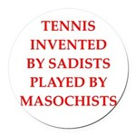 tennis Round Car Magnet