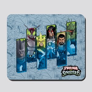 Sinister Six Mousepad