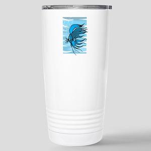 Blue Betta Stainless Steel Travel Mug