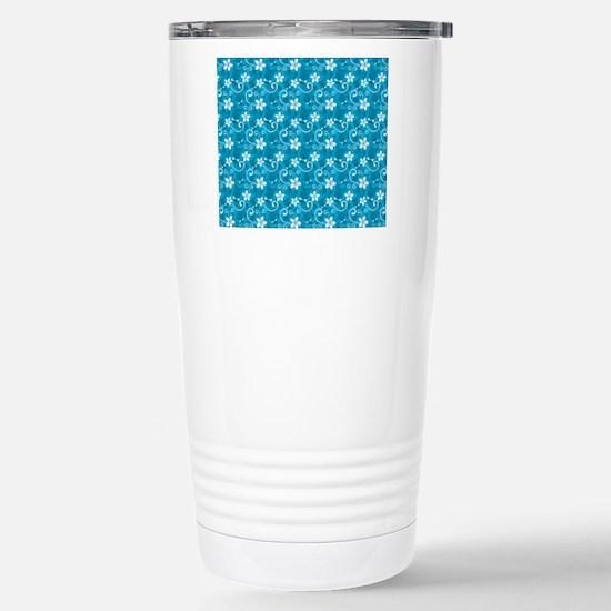 Tropical Floral Tiki Tu Stainless Steel Travel Mug