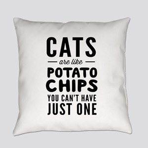 Cats are like potato chips you can't have just one