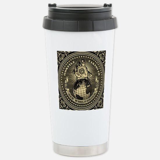 illuminati new world or Stainless Steel Travel Mug