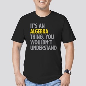 Its An Algebra Thing Men's Fitted T-Shirt (dark)