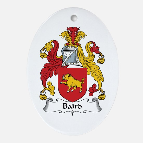 Baird Oval Ornament