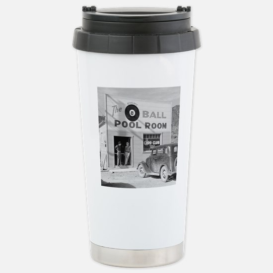 The Eight Ball Pool Roo Stainless Steel Travel Mug