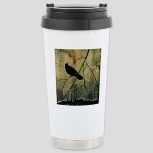 Old Curtain Stainless Steel Travel Mug