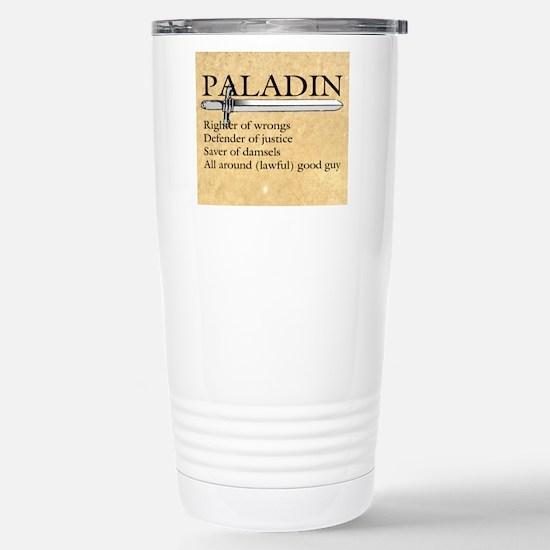 Paladin - Lawful good g Stainless Steel Travel Mug